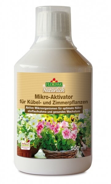 Mikro-Aktivator für Kübel- und Zimmerpflanzen
